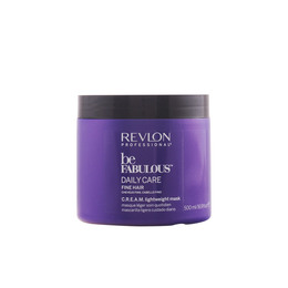 BE FABULOUS daily care fine hair cream mask 500 ml de Revlon