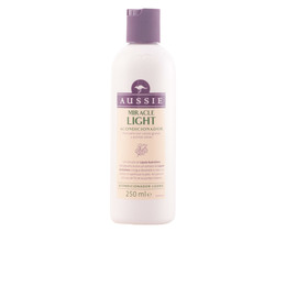 MIRACLE LIGHT pelo liso fino acondicionador 250 ml de Aussie