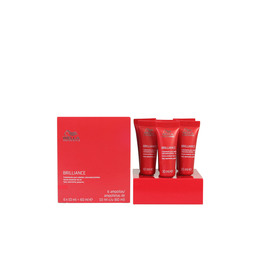 BRILLIANCE color protection serum 6x10ml 60 ml de Wella