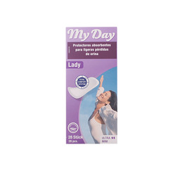MY DAY protector incontinencia ultra mini 28 uds de My Day