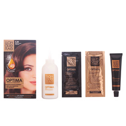 OPTIMA hair colour #5.24-amond dark brown de Llongueras