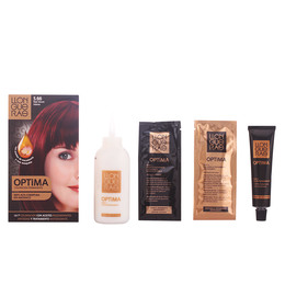 OPTIMA hair colour #5.66-deep intense red de Llongueras
