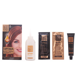 OPTIMA hair colour #7.4-copper de Llongueras