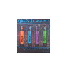 URBAN LIGHTS EYE CRAYONS LOTE 4 pz de Flashmob