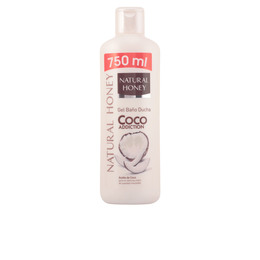 COCO ADDICTION gel de ducha 750 ml de Natural Honey