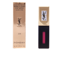 ROUGE PUR COUTURE POP WATER glossy stain #206-misty pink 6ml de Yves Saint Laurent