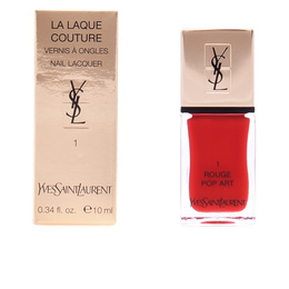 LA LAQUE COUTURE #01-rouge pop art  10 ml de Yves Saint Laurent