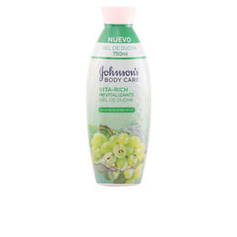 VITA-RICH REVITALIZANTE UVAS gel de ducha 750 ml de Johnson`s