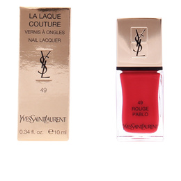 LA LAQUE COUTURE #49-rouge pablo 10 ml de Yves Saint Laurent