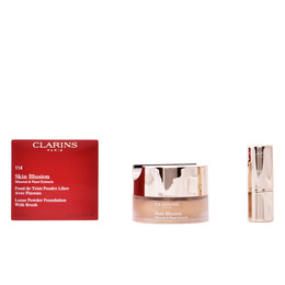 SKIN ILLUSION mineral & plant extracts #114-cappucino 13 gr de Clarins