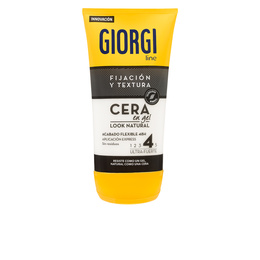 FIJACIÓN Y TEXTURA cera gel look natural nº4 145 ml de Giorgi
