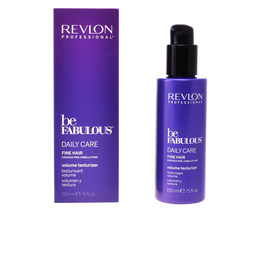 BE FABULOUS daily care fine hair volume texturizer 150 ml de Revlon
