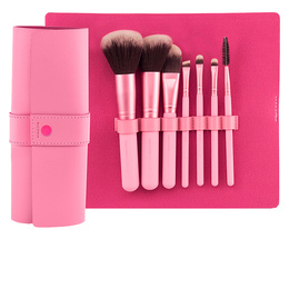 PROFESSIONAL PINK estuche-manta 7 brochas make up de Beter
