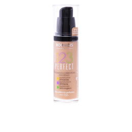 123 PERFECT liquid foundation #57-light bronze  30 ml de Bourjois