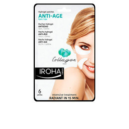 EYES & LIP hydrogel patches collage anti-age 6 pcs de Iroha