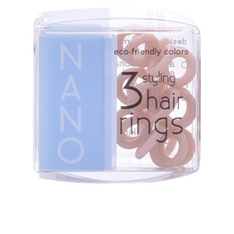INVISIBOBBLE NANO to be or nude to be hair rings 3 uds de Invisibobble