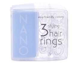 INVISIBOBBLE NANO crystal clear hair rings 3 uds de Invisibobble