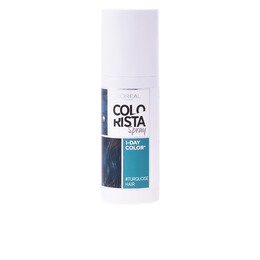 COLORACION TEMPORAL spray  #7-turquoise 75 ml de L`Oreal Colorista