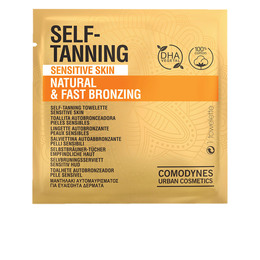 SELF-TANNING natural & fast bronzing sensitive skin 8 uds de Comodynes