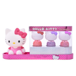 PURFECTLY POLLISHED NAIL STATION CASE 4 pz de Hello Kitty