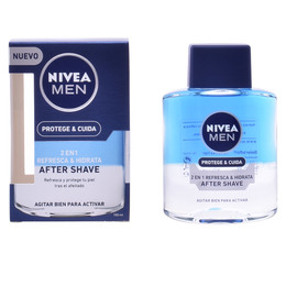 MEN PROTEGE & CUIDA after shave 2 en 1 100 ml de Nivea