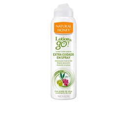 LOTION & GO! leche corporal extra cuidado en spray 200 ml de Natural Honey