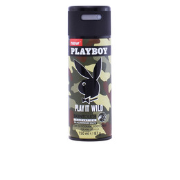 PLAY IT WILD MEN deo vaporizador 150 ml de Playboy