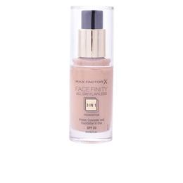 FACEFINITY 3IN1 primer, concealer & foundation #80-bronze de Max Factor