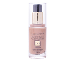 FACEFINITY 3IN1 primer, concealer & foundation #85-caramel de Max Factor