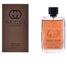 GUCCI GUILTY ABSOLUTE POUR HOMME edp vaporizador 50 ml de Gucci