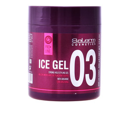 ICE gel strong hold styling gel 500 ml de Salerm