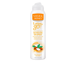 LOTION & GO! leche corporal nutrición en spray 200 ml de Natural Honey