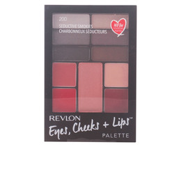 PALETTE eyes, cheeks + lips #200-seductive smokies de Revlon