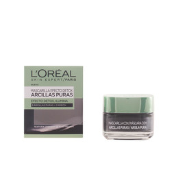 MASCARILLA ARCILLA NEGRA efecto detox e ilumina 50 ml de L`Oreal Make Up