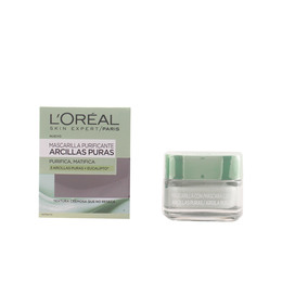 MASCARILLA ARCILLA verde purifica y matifica 50 ml de L`Oreal Make Up