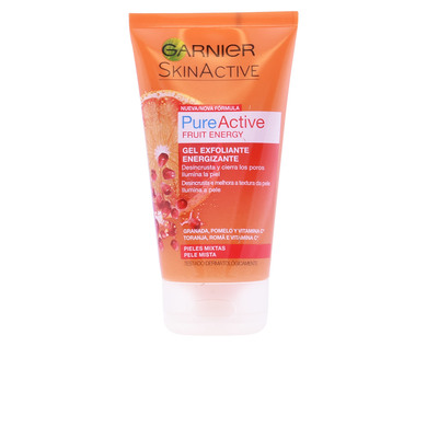 PURE ACTIVE gel exfoliante energizante piel mixta 150 ml de Garnier