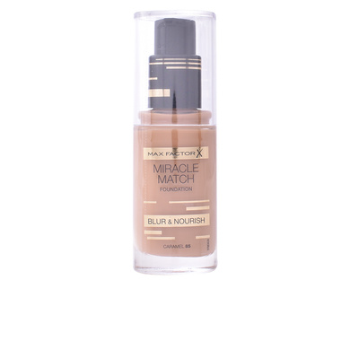 MIRACLE MATCH BLUR & NOURISH foundation #85-caramel de Max Factor